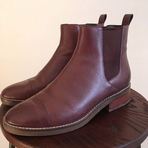 Real Leather Cole Haan Brown Boots